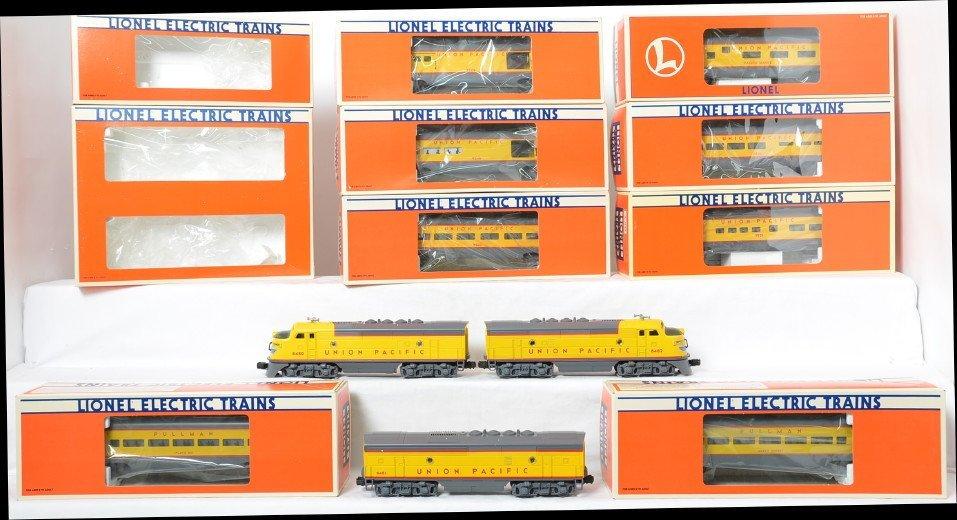 Lionel Union Pacific passenger set 8480, 7210, 9546