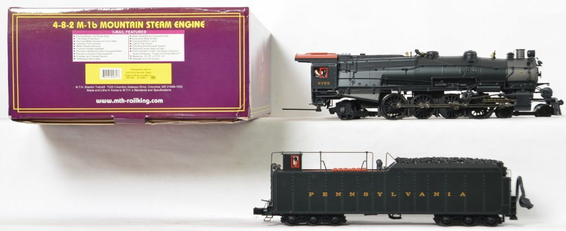 MTH Pennsylvania M-1b Mountain with Proto 2 - 2