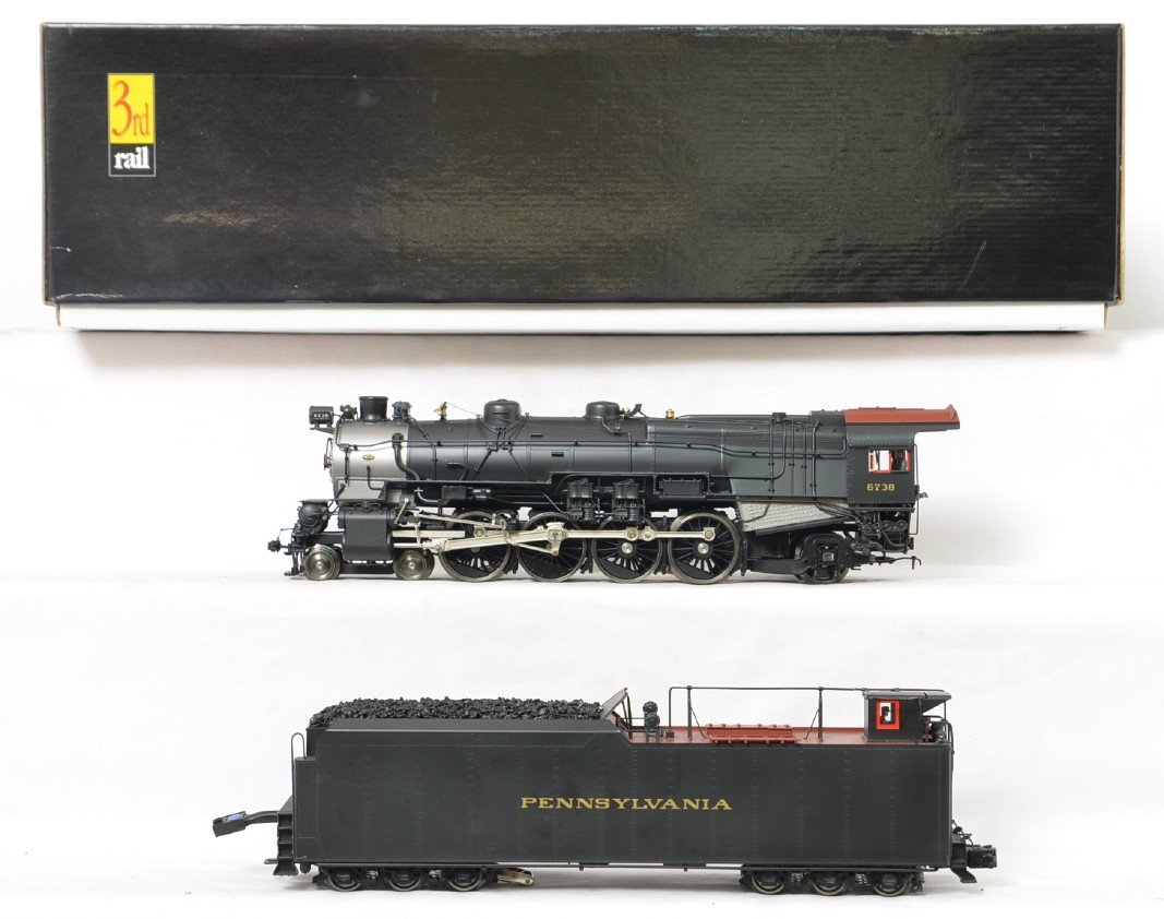 3rd Rail Pennsylvania M1a with TMCC