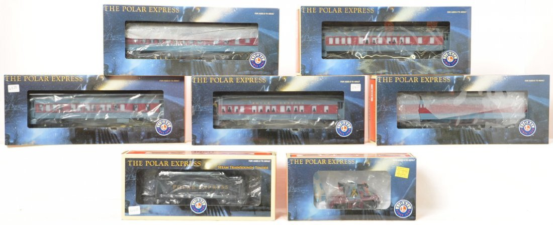 7 Lionel Polar Express add ons, Trainsounds tender,