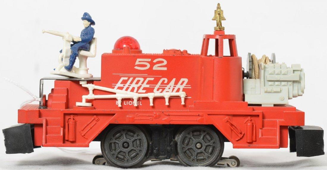 Lionel Postwar O gauge 52 fire car