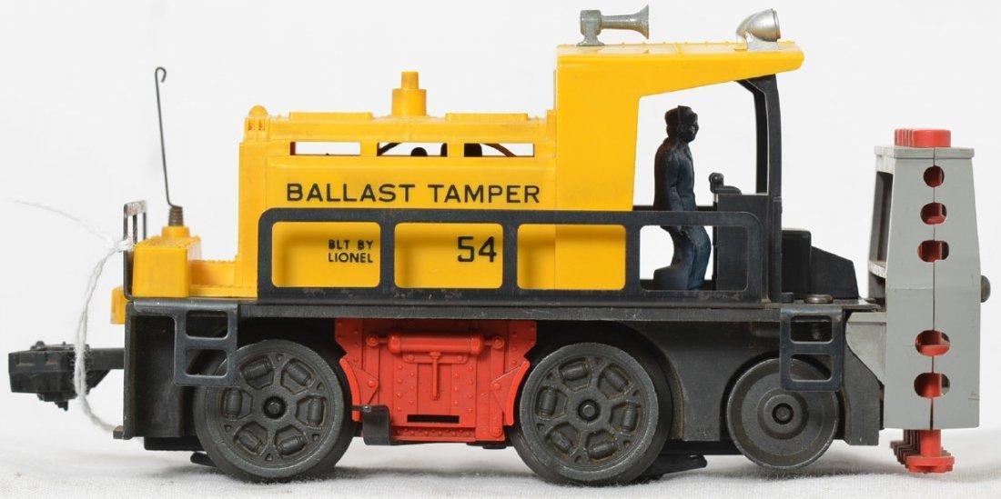 Lionel Postwar O gauge 54 ballast tamper