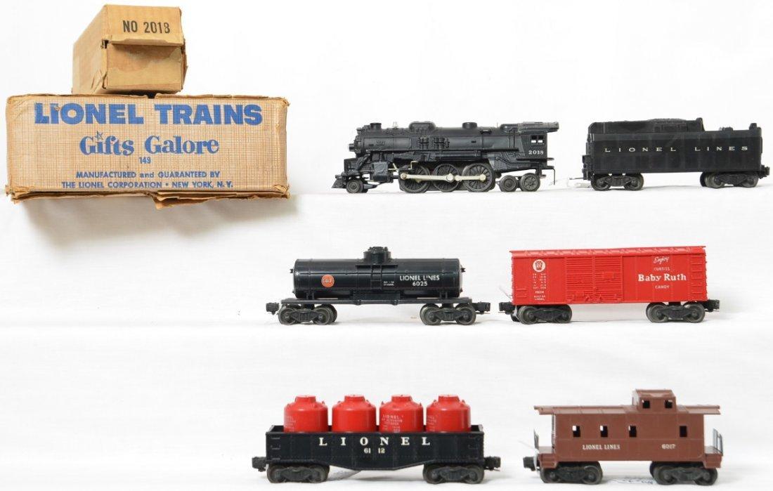 Lionel Postwar O gauge Gifts Galore set 149 in OBs