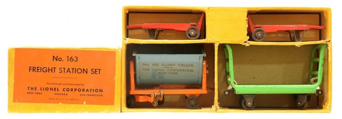 Lionel Std. Ga. 163 Freight Station Set Boxed