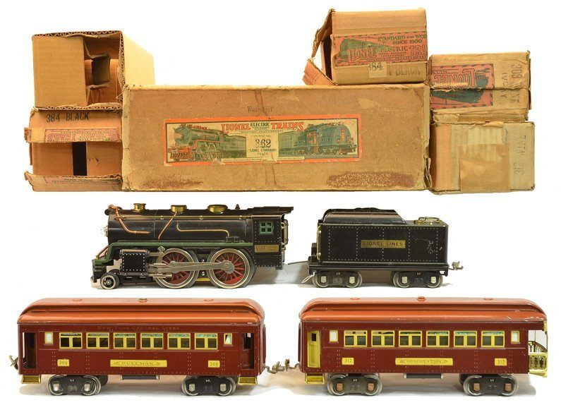Lionel Maroon/T.Cotta Passenger Set no. 362 OBs