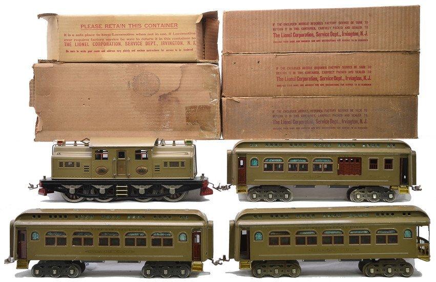 Lionel Std. Ga. Mojave Passenger Set 403 OBs