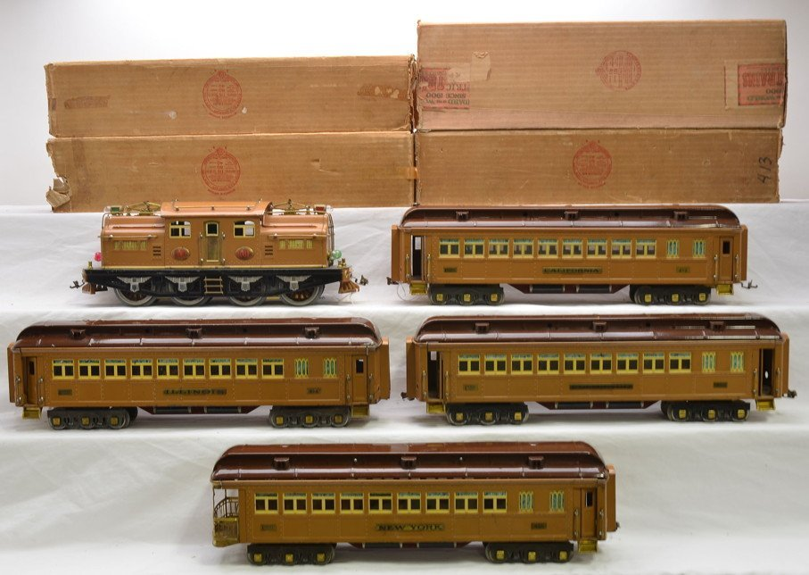 Lionel Transcontinental Limited State Set 411E - 2