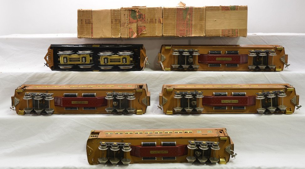 Lionel Transcontinental Limited State Set 411E - 4