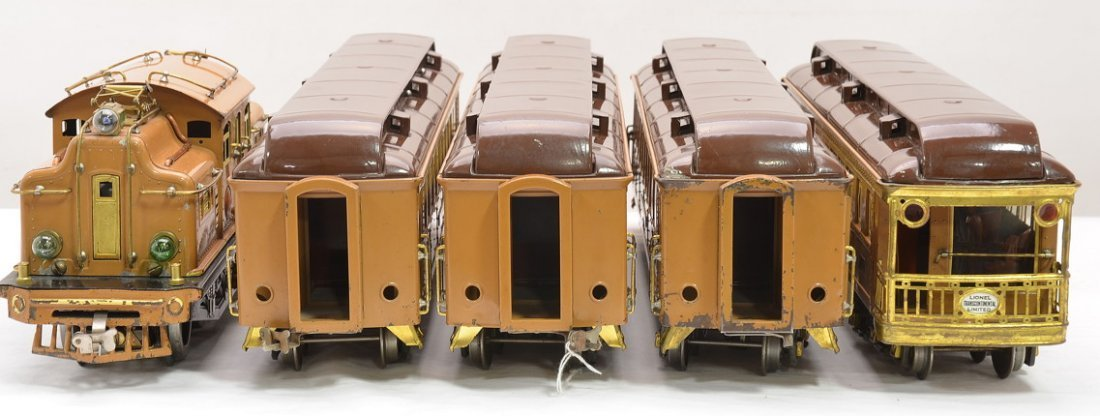 Lionel Transcontinental Limited State Set 411E - 5