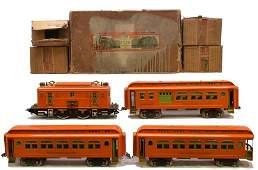 Lionel Std. Ga. Orange Passenger Set no. PO-50