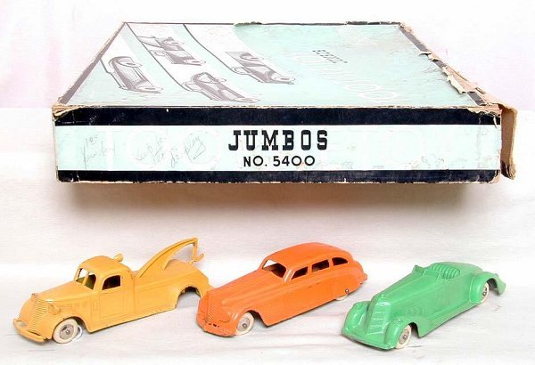 3: Tootsietoy Jumbos No. 5400 original box