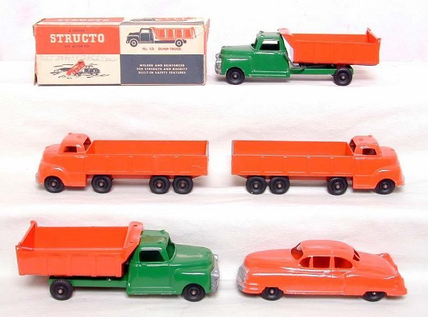 7: Nice lot of Structo vehicles