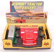 50: Mint Doepke Airport Tractor & Trailers, OB