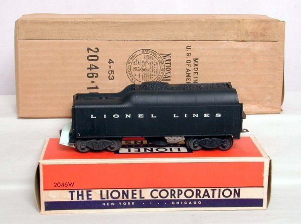 532: Mint sealed Lionel 2046 Hudson/tender, OB