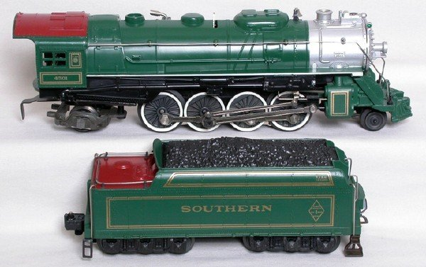 4: Lionel 8309 Southern FARR 2-8-2 #4501 and tender