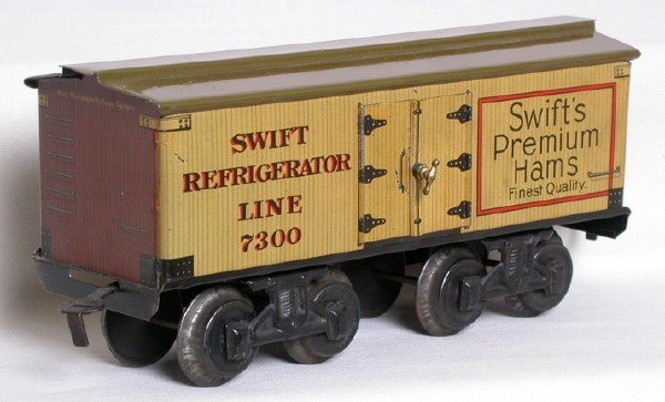 705: Bing gauge 1 Swifts Premium Hams 7300 reefer