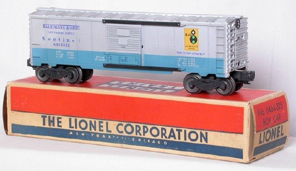 706: Lionel 6464-325 Baltimore and Ohio Sent, OB
