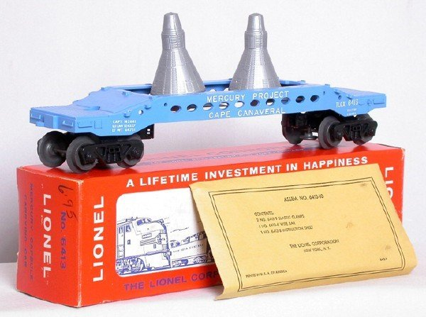 712: Mint Lionel 6413 Mercury Capsule launch, OB