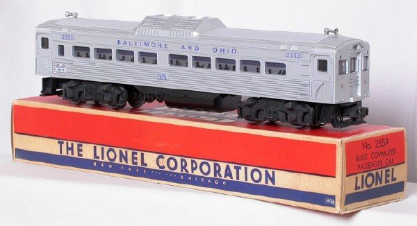 720: Lionel 2559 Baltimore and Ohio BUDD RDC, OB