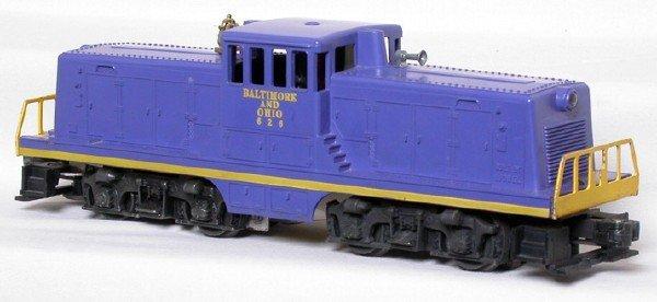 2: Lionel 626 Baltimore and Ohio center cab