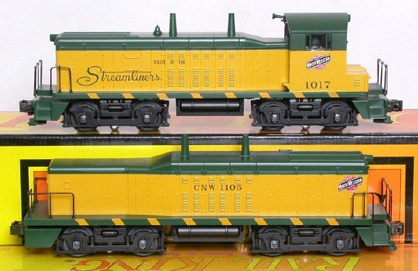 5: MTH 30-2139 Chicago North Western NW2 cow-calf