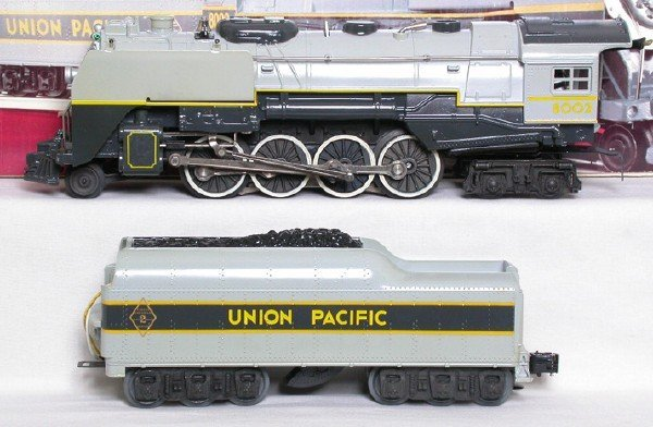 11: Lionel 8002 Union Pacific 2-8-4 and tender, OB