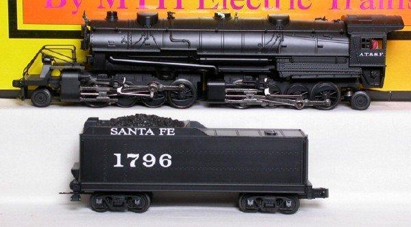 17: MTH 30-1304-1 Santa Fe USRA 2-8-8-2 1796 sound