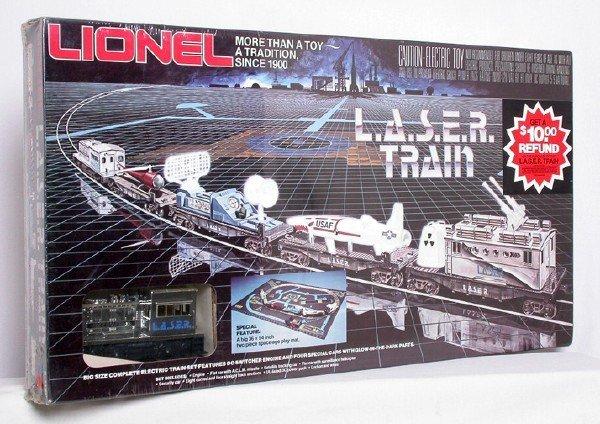 19: Lionel 1150 L.A.S.E.R. train set, sealed