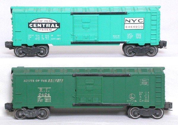 22: Lionel 6464 Rock Island 6464-900 NYC boxcars