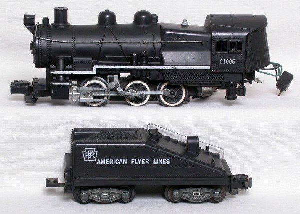 472: American Flyer 21005 PRR 0-6-0 and tender