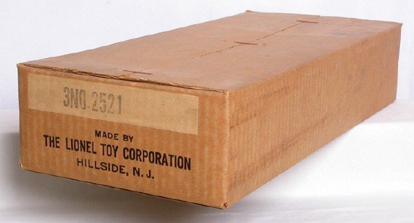 619: Sealed carton of 3 No. 2521 Presidential cars