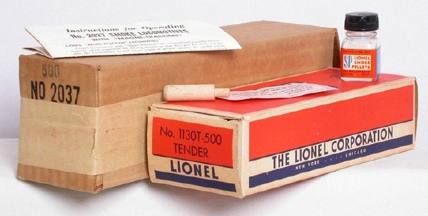623: Lionel boxes only for 2037 Girls loco and tender