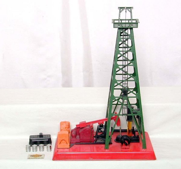 2002: Lionel 455 oil derrick, Ex  Condition.