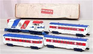 Lionel TCA Bicentennial Special w/ U36B & 3 cars