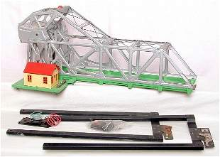 Lionel 313 bascule bridge w/ alignment frames