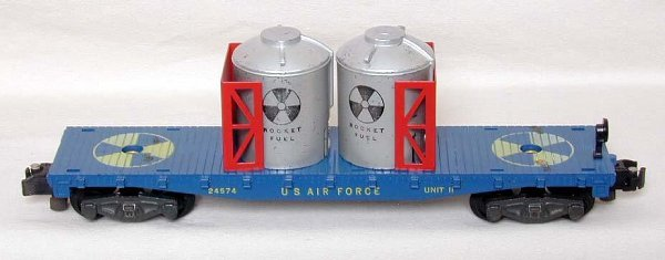 2009: American Flyer 24574 Air Force rocket fuel car