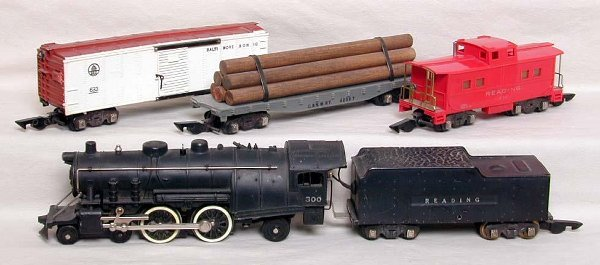 2013: Early American Flyer 5-piece steam freight set