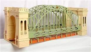 Lionel prewar 300 Hellgate bridge