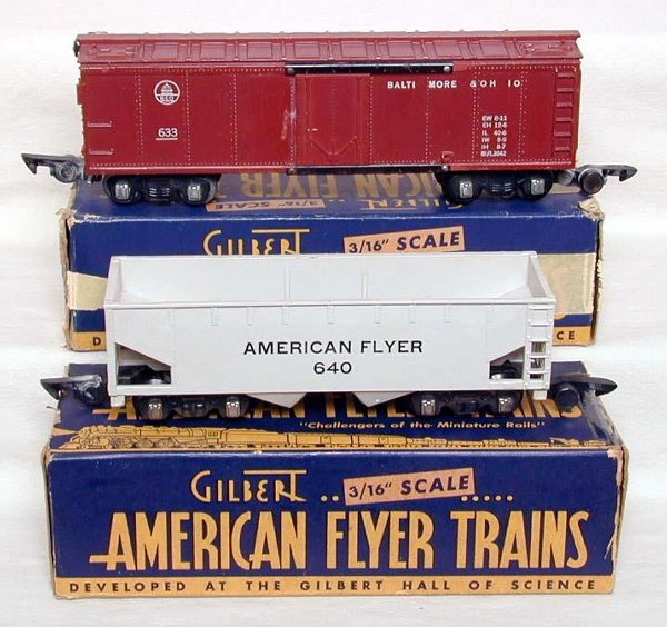 2017: American Flyer 633 & 640 cars