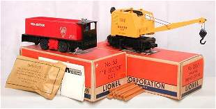 Lionel 3360 & 55 motorized units in OB's