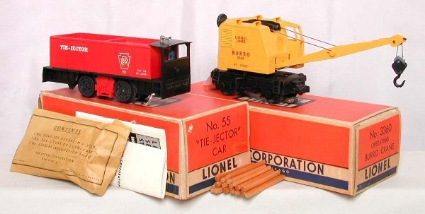 2018: Lionel 3360 & 55 motorized units in OB's