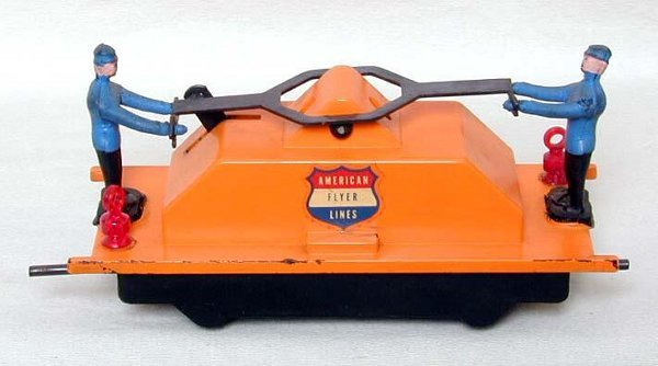 2019: American Flyer 742 mine train handcar
