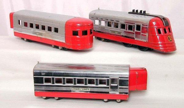 2024: Lionel prewar 1700 JR red/chrome set
