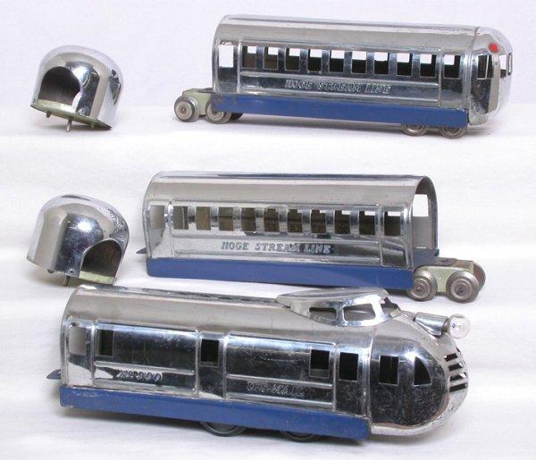 2: Hoge 900 three-car streamliner