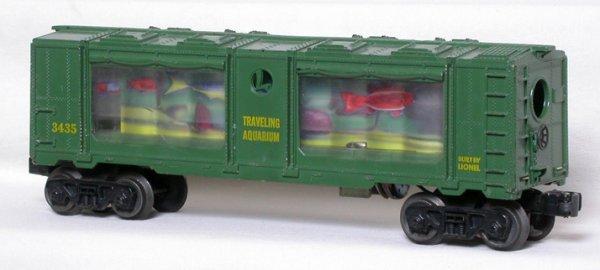 4: Lionel 3435 aquarium car, no cracks or breaks