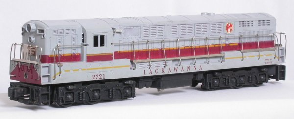 8: Lionel 2321 gray-top Lackawanna F-M Train Master