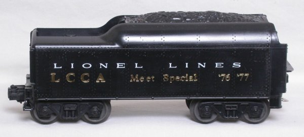 10: Lionel LCCA 1976-77 Meet Special 1130T tender