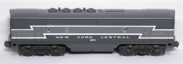 11: Lionel 8371 New York Central F3B dummy