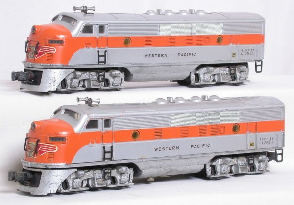20: Lionel 2345 Western Pacific F3 A-A set