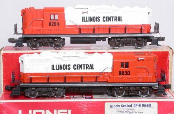 23: Lionel Illinois Central 8030 8254 GP9 pwd-dummy